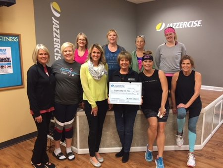 The Jazzercise group on Wiley Blvd. raised and donated $1,050 to EFY in November 2017. Thank you for your support!