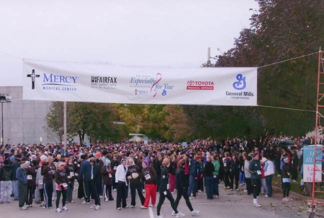 2009 Event Starting Line